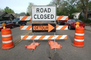 Road Closed Detour