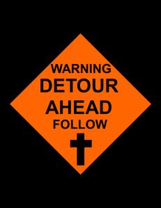 WARNING DETOUR