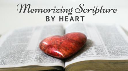 Memorizing-Scripture