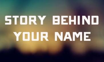 story behind name